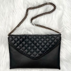 J. Crew Quilted Envelope Purse